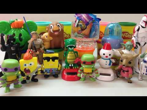 Candy Surprises and Toys For Kids, Teenage Mutant Ninja Turtles, Disney Planes, Fashion Details