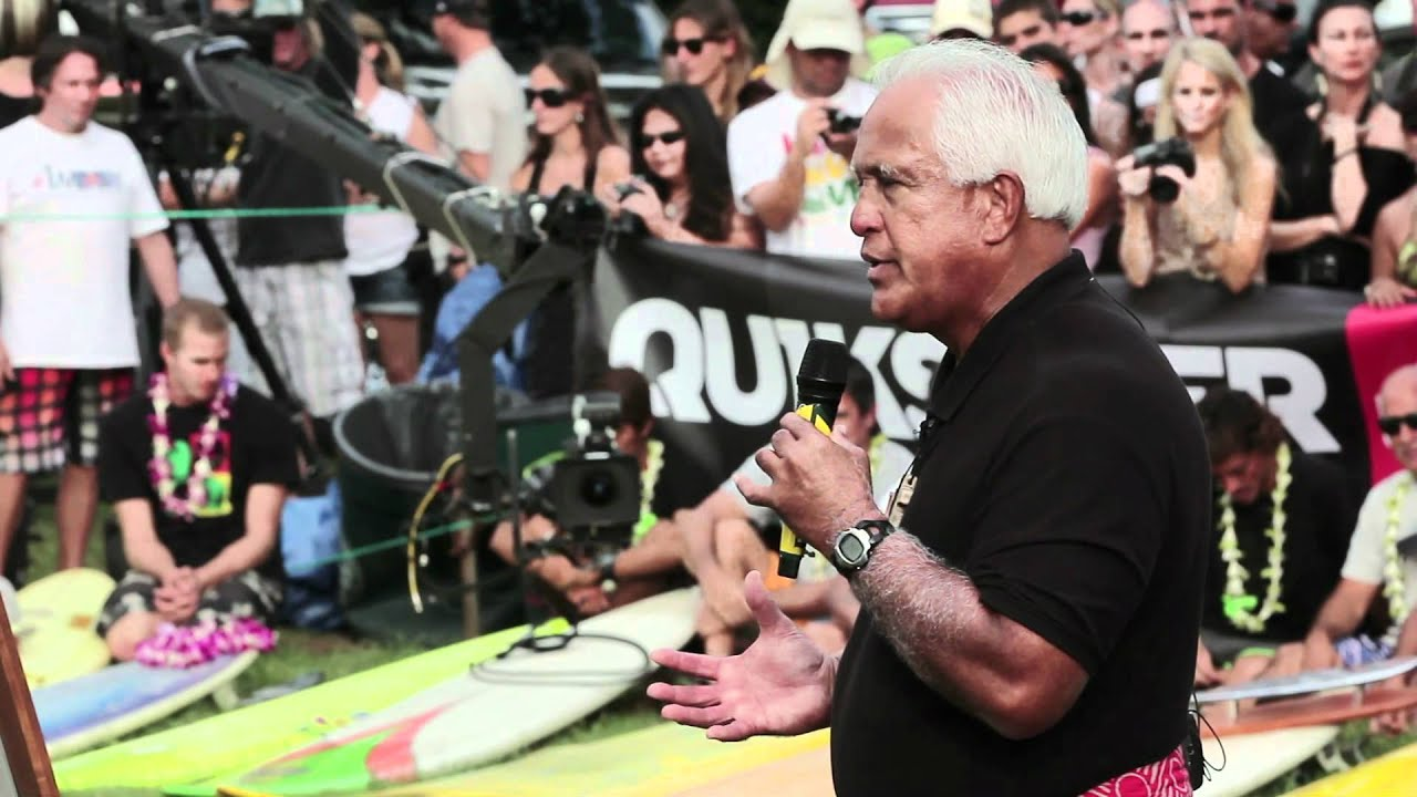 The Quiksilver In Memory of Eddie Aikau Opening Ceremony 2011-2012