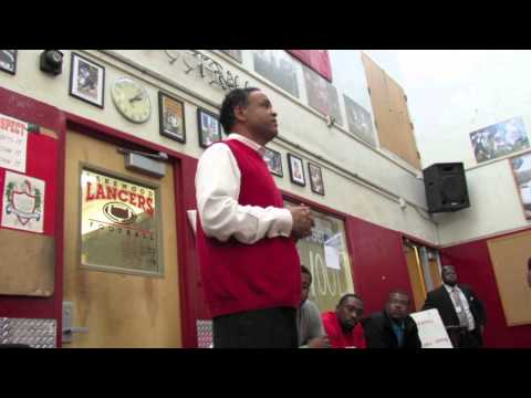 Lakewood Football: New Head Coach Kenric Jameison Introduction