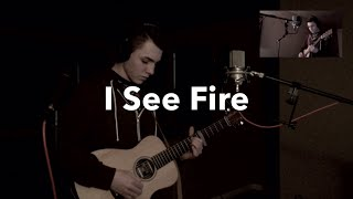 Ed Sheeran - I See Fire (Acoustic Loop Pedal Cover)