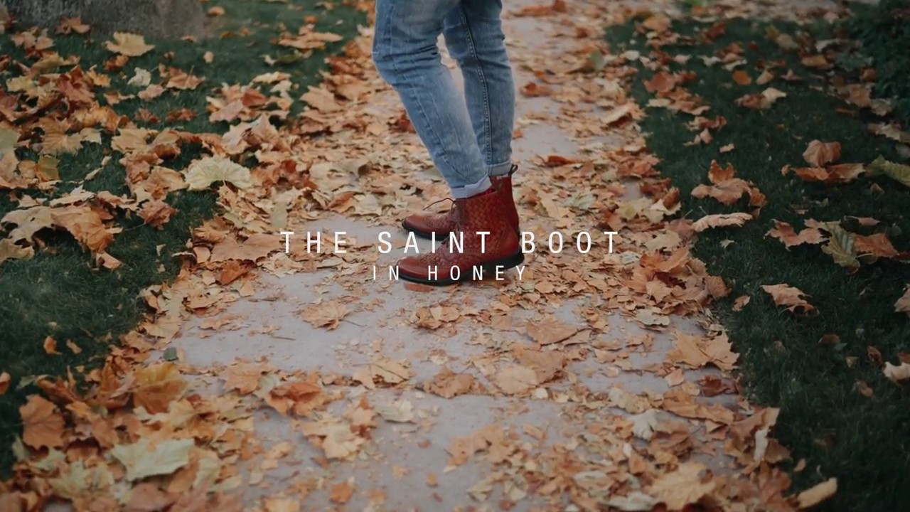 f0f8dc3f84a TAFT: the Saint Boot in Honey