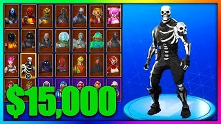 SALES THE ACCOUNT OF NINJA TO A CIFRA ASSURDA!! Fortnite Battle Royale