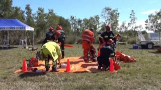 2015 SES with QLD FIRE AND EMERGENCY Services