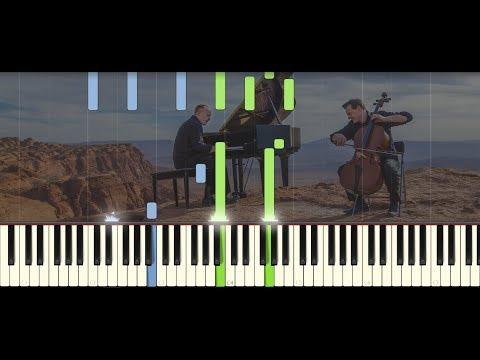 O come, O come, Emmanuel - The Piano Guys   PIANO TUTORIAL by Betacustic