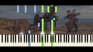 O come, O come, Emmanuel - The Piano Guys | PIANO TUTORIAL by Betacustic