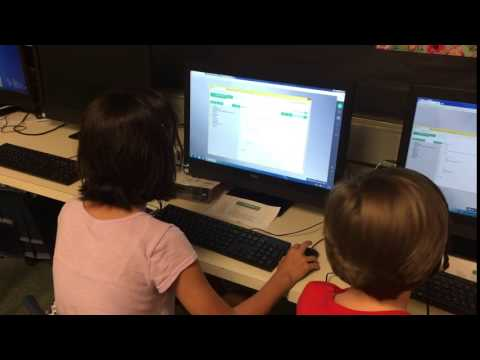 Interactive Coding Class at Cedar Valley Middle School