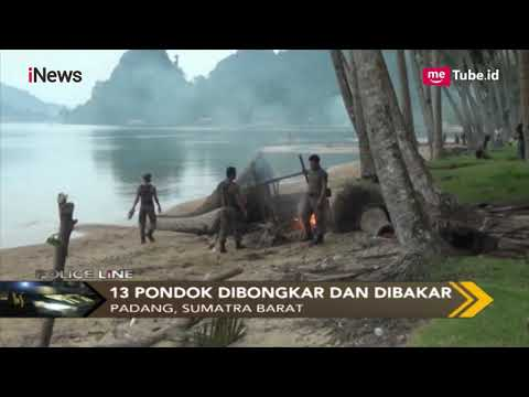 Belasan Gubuk Sediakan Tempat Mesum di Pantai Nirwana Dibongkar Satpol PP - Police Line 17/12 thumbnail