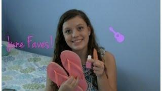 June Beauty, Random, & Music Favorites 2014! Thumbnail