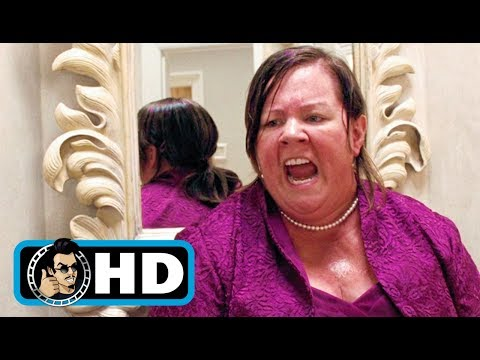 BRIDESMAIDS (2011) Movie Clip - Dress Fitting Food Poisoning |FULL HD| Melissa McCarthy