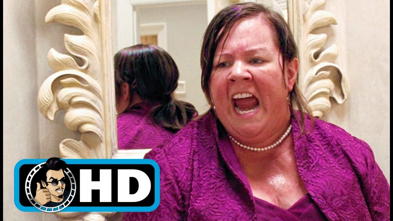 bridesmaids (2011) movie clip - dress fitting food poisoning |full