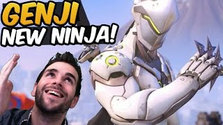 GENJI LE FEU CE PERSO ! ♦ Gameplay OVERWATCH