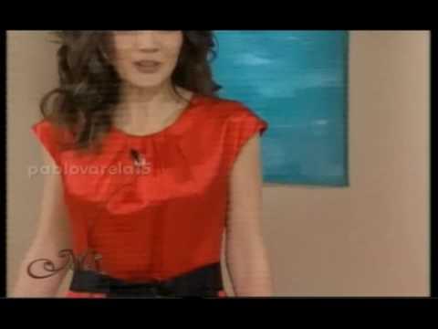 Desfile Cristina Perez - Almorzando con Mirtha Legrand - America TV - 2010