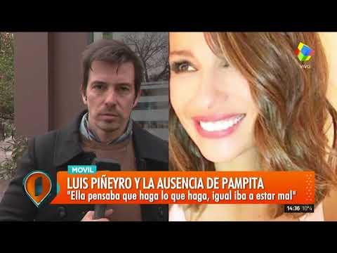 Luis Piñeyro habló sobre la salida de Pampita de su programa