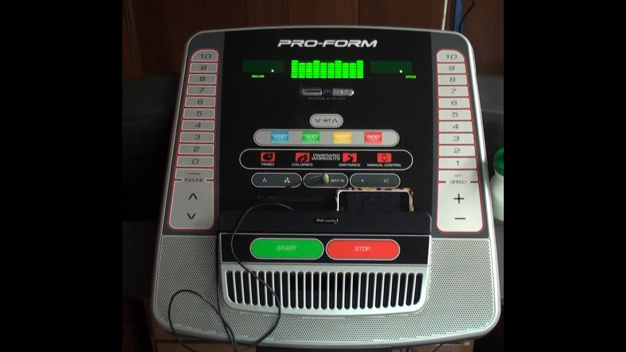 proform proshox lite 3 treadmill manual