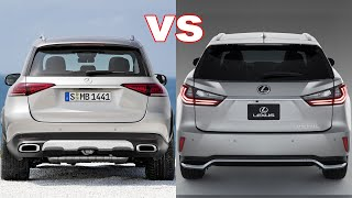 2019 Lexus RX vs Mercedes Benz GLE 2019. Competitive Walkaround Review.