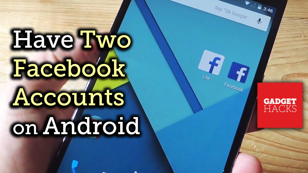 Use Two Different Facebook Accounts on One Android Device [How-To]