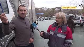 «Легковушка» подлезла под грузовик на Черемуховой