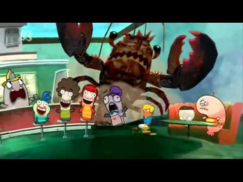 fish hooks theme song dubbed into 20 languages being played at once
