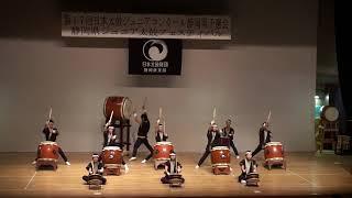 第17回日本太鼓ジュニアコンクール静岡県予選会④ 天竜高校「天竜」