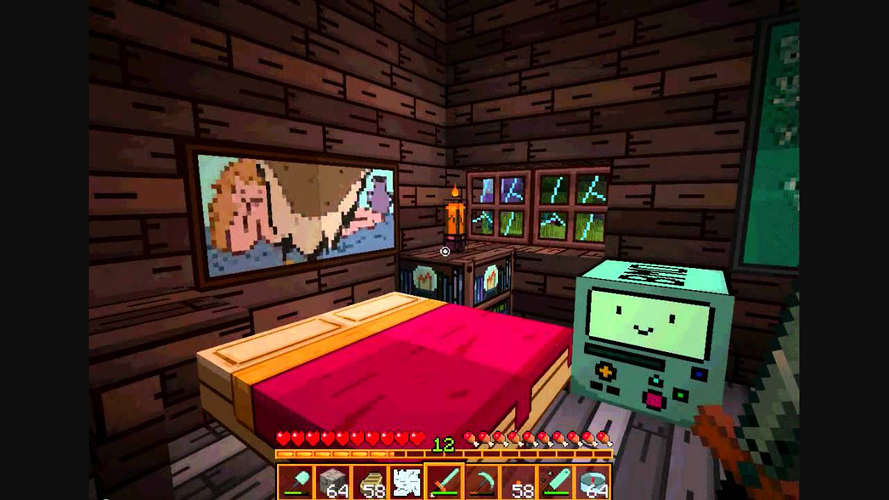 Adventure Time Minecraft Texture Pack Youtube