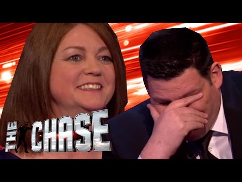 The Chase - The Beast Fumbles ELEVEN TIMES On The Final Chase!