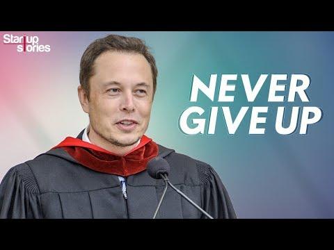 Elon Musk Motivational Video | Inspirational Speech | Never Give Up | Startup Stories