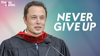 Elon Musk Motivational Video | Inspirational Speech | Never Give Up | Startup Stories