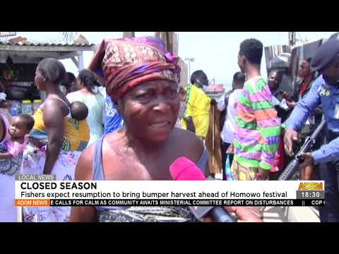 Fishers expect resumption to bring harvest ahead of Homowo festival -   Adom TV News (21-7-21)
