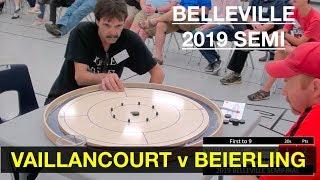 2019 Belleville Crokinole Semi - Beierling v Vaillancourt