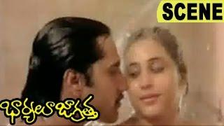 Geetha Express Her Love To Rahman |  Baryalu Jagratha Telugu  Movie Scenes | Rahman, Geeta, Sitara