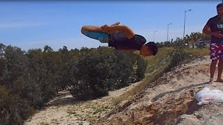 simo parkour freerunning youssoufia 2014