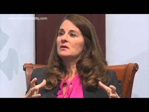 Wife of Bill Gates, Melinda Gates Interview