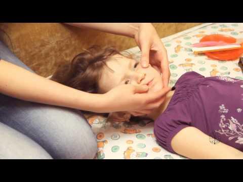 Логопедический массаж для детей видео урок