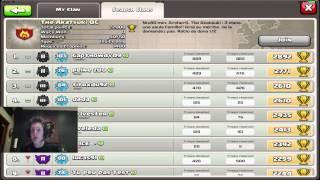 Mise a jour des clans abonnes et des clans AKAS ! [Clash Of Clans]