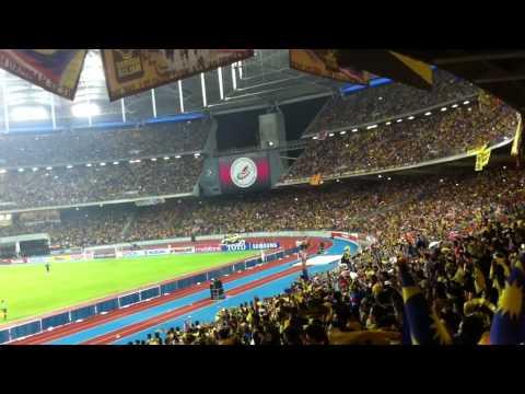 Malaysia 2-0 Indonesia AFF Suzuki Cup 2012 ( Ending Time)