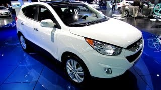 2013 Hyundai Tucson Limited - Exterior and Interior Walkaround - 2012 Los Angeles Auto Show