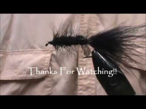 Fly Tying a Black Wooly Bugger with Jim Misiura