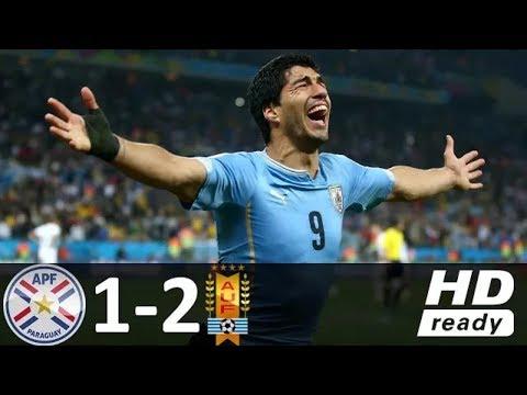 Paraguay vs Uruguay 1-2 - Highlights  & All goals 5 September 2017