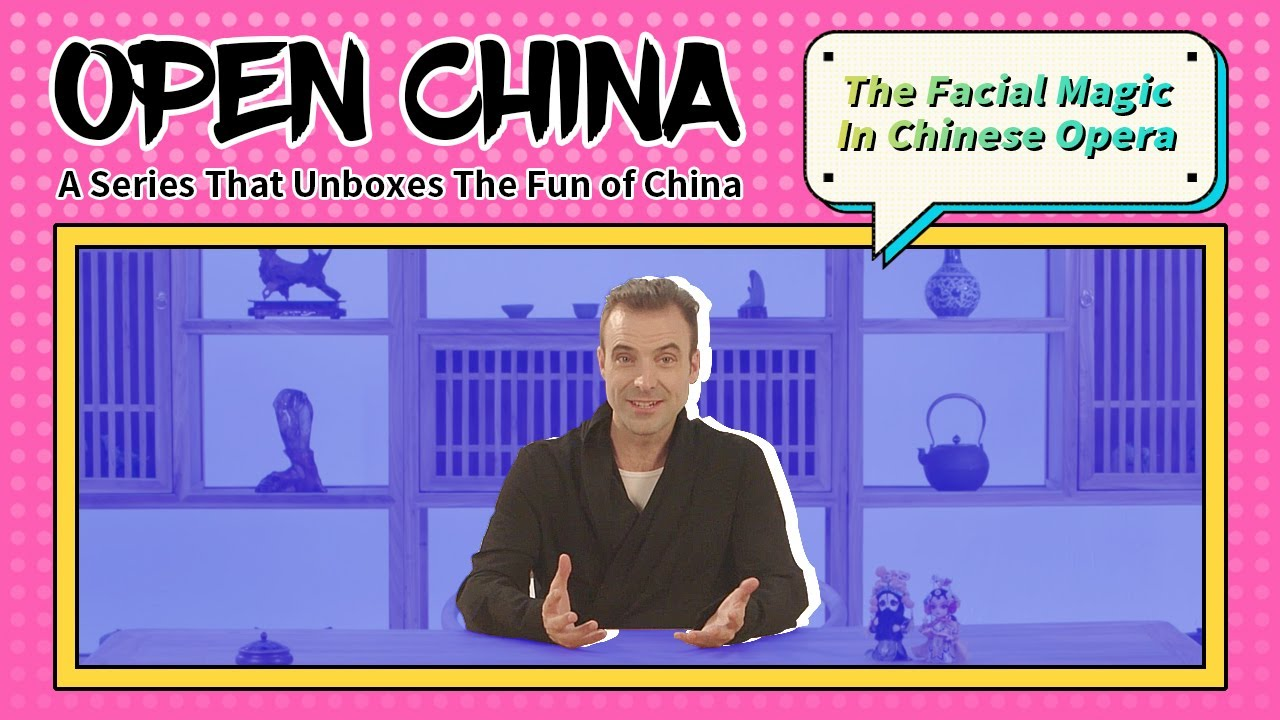 The Facial Magic In Chinese Opera | EP11 Open China