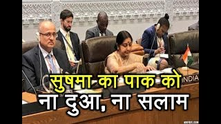 SAARC: Sushma Leaves Before Pak Foreign Minister's Speech; No Pleasantries Exchanged | ABP News