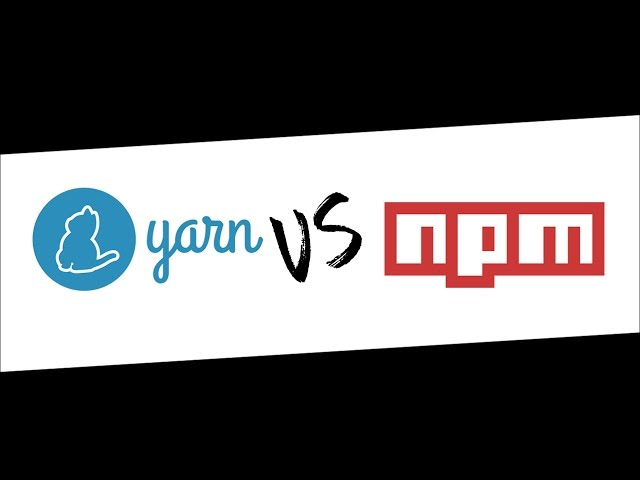 Yarn vs NPM - You won't believe how fast it is