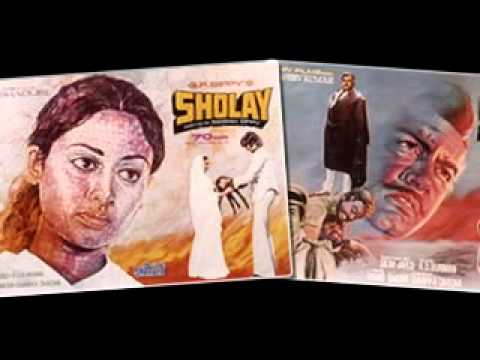 Sholay Movie Poster For Sell In New Delhi.