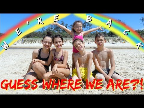 WE'RE BACK & GUESS WHERE WE ARE?! #35 VLOG