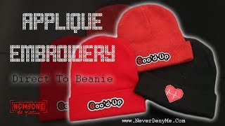 How To Embroider A Beanie | Boo'd Up For Valentines Day ❤ | Brother SE625 Embroidery Machine
