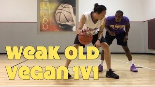 51 Year Old Vegan 1 On 1 Basketball At LA Fitness