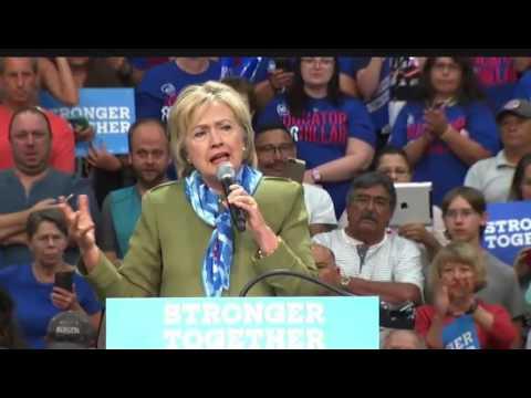 Hillary Clinton In Commerce City FULL Speech 8/3/16