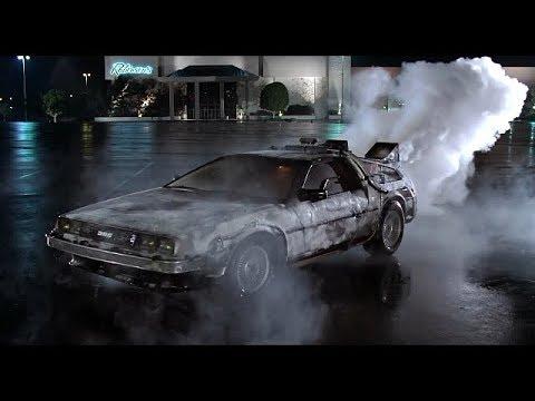 Delorean (escena) Regreso al futuro