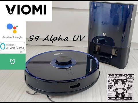 Viomi S9 Alpha UV smart odkurzacz z bazą ssącą