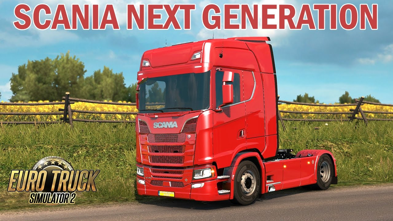 ets2 scania s580 v8 next generation scania euro truck. Black Bedroom Furniture Sets. Home Design Ideas