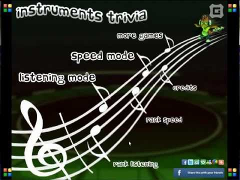 Instruments Trivia (Preview & Play) Free Online Game